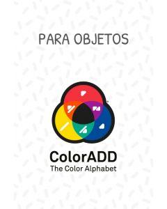 Pegatinas con el Alfabeto de los Colores ColorADD