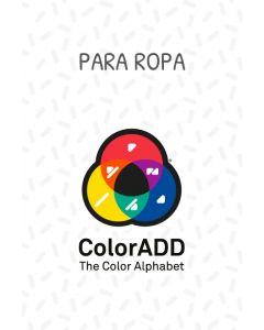 Termoadhesivos con Alfabeto de los Colores ColorADD