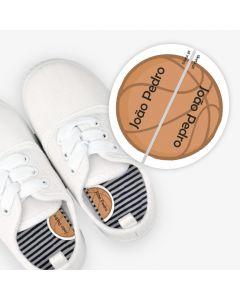 Etiquetas para calzado izquierda y derecha - Baloncesto