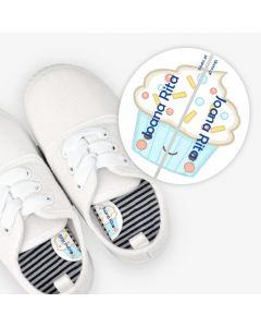 Etiquetas para calzado izquierda y derecha - CupCake