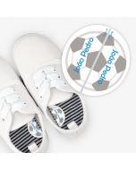 Etiquetas para calzado izquierda y derecha - Bola