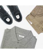 Identificar roupa e calçado lares de idosos